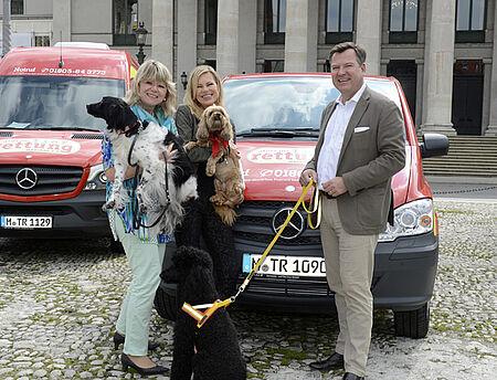 Dr. Evelyne Menges, Nina Ruge und Josef Schmid