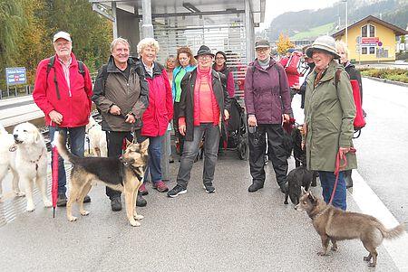 Wanderreisegruppe im Zillertal